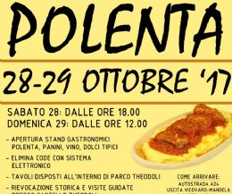 Locandina: Festa della Polenta