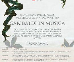Locandina: Garibaldi in Musica