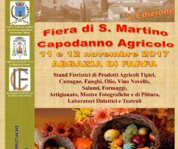 Locandina: Fiera di San Martino - Capodanno Agricolo, V edizione