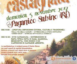 Locandina: Bosco dell'obito e castagnata a Paganico