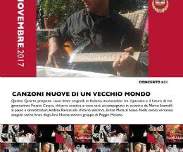 Locandina: Canzoni Nuove di un Vecchio Mondo