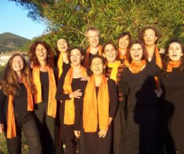 Locandina: Cena e concerto del Coro Zenzerei
