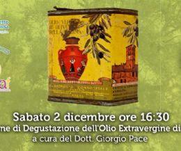 Locandina: Lezione di degustazione dell'olio extravergine di oliva