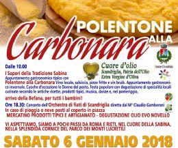 Locandina: Polentone alla Carbonara