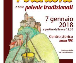 Locandina: Sagra del polentone e delle polente tradizionali