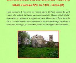 Locandina: Santa Maria del Piano e la sagra del polentone