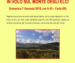 Locandina: In volo sul Monte degli Elci