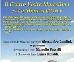 Locandina: Inaugurazione del Centro Visita di Marcellina