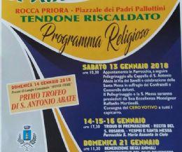 Locandina: Festa di S. Antonio Abate e...