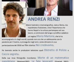 Locandina: Lettura Scenica dell'attore ANDREA RENZI