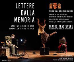 Locandina: Lettere dalla Memoria