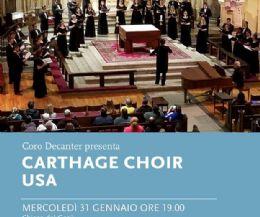Locandina: A Frascati il Carthage Choir