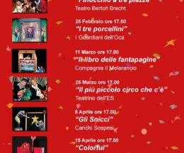 Locandina: 7 Spettacolari Weekend al Teatro Potlach