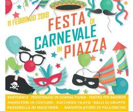 Locandina: Festa di Carnevale in Piazza
