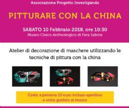 Locandina: Pitturare con la china