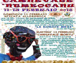 Locandina: Carnavale 'Ndreoacanu 2018