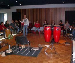 Locandina: Seminario di percussione brasiliana