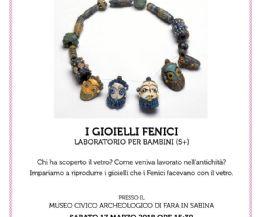 Locandina: Laboratorio di gioielli fenici