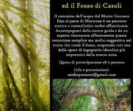 Locandina: Monte Matano e Fosso di Casoli