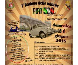 Locandina: Raduno Fiat 500 e auto d'epoca