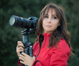 Locandina: Barbara Dall'Angelo a Calcata