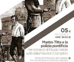 Locandina: Mastro Titta e la polizia pontificia