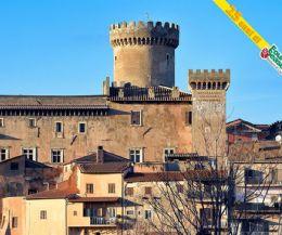 Locandina: Dai Castelli di Fiano e Civitella San Paolo all'Ecoturismo Tevere-Farfa