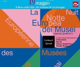 Locandina: La Notte Europea dei Musei a Cori