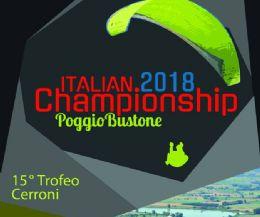 Locandina: Campionato Italiano Parapendio