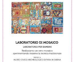 Locandina: Laboratorio di Mosaico