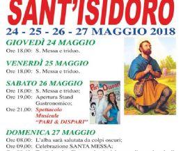 Locandina: Festa di Sant'Isidoro 2018