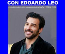 Locandina: Quattro chiacchere con Edoardo Leo