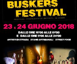 Locandina: Buskers Festival 2018