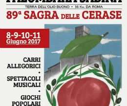 Locandina: Sagra delle cerase a Palombara Sabina e festa sia!