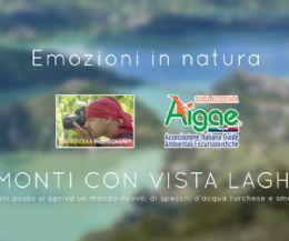Locandina: Sul Monte Cervia da Collegiove, in volo sul Lago del Turano