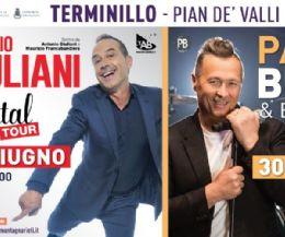 Locandina: Antonio Giuliani e Paolo Belli