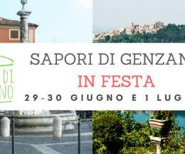 Locandina: Sapori di Genzano in Festa
