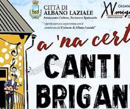 Locandina: A 'na certa Canti e Briganti, 2ª edizione