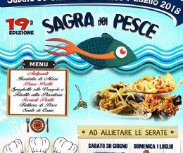 Locandina: Sagra del Pesce a Poggio San Lorenzo
