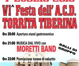 Locandina: VI festa dell'A.C.D