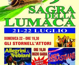 Locandina: IX Sagra della Lumaca