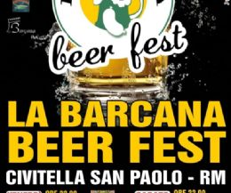 Locandina: La Barcana Beer Fest