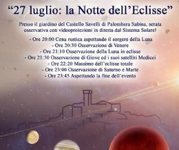 Locandina: La Notte dell'Eclisse