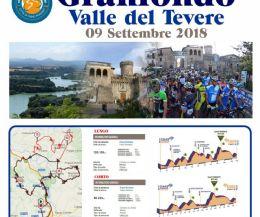 """Locandina: Valle del Tevere: i percorsi granfondo e mediofondo ai """"raggi X"""""""