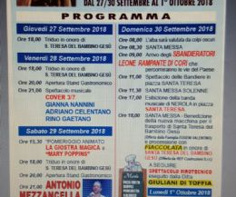 Locandina: Festa Patronale