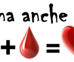 Locandina: Il sangue è vita. Donare il sangue è un atto d'amore