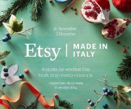 Locandina: Etsy Made in Italy 2018