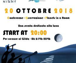 Locandina: Notte Internazionale di Osservazione della Luna