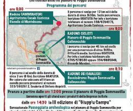 Locandina: Giornata Nazionale del Camminare (GIUPP'U CAMPU 3)