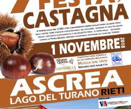 Locandina: Festa di Ascrea